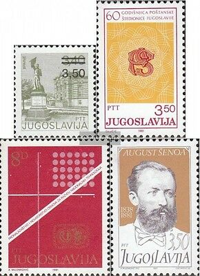 Yugoslavia 1905,1906,1907,1910 (complete.issue.) unmounted mint / never hinged 1
