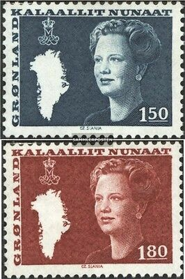 Denmark-Greenland 134-135 (complete.issue.) unmounted mint / never hinged 1982 Q