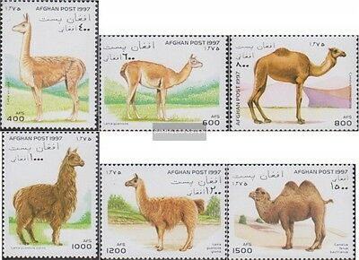 Afghanistan 1712-1717 (complete.issue.) unmounted mint / never hinged 1997 Camel