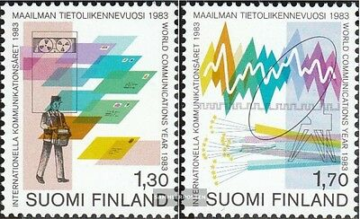 Finland 924-925 (complete.issue.) unmounted mint / never hinged 1983 Communicati