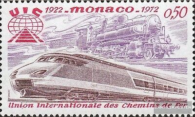 Monaco 1034 (complete.issue.) unmounted mint / never hinged 1972 Railway-Associa