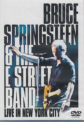 Bruce Springsteen and The E Street Band: Live in New York City (2 DVDs, NEU!OVP)