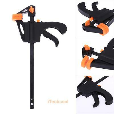 4'' F Woodworking Quick Grip One Handed Bar Clamp Hand Trigger Handed Bar Clamp