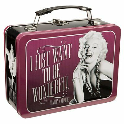 Clearance Priced - Marilyn Monroe - Large Tin Tote