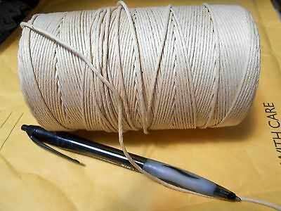 Lacing cord for braided rugs