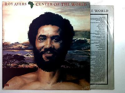 Roy Ayers - Africa, Center Of The World US LP 1981 + Innerbag //1