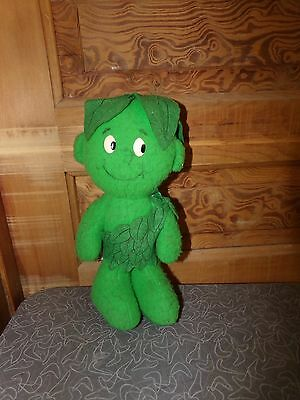 Vintage Jolly Green Giant Vegetables Advertising Sprout Plush Toy