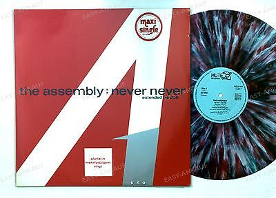 The Assembly - Never Never (Extended Version) GER marbled Maxi 1983 //5