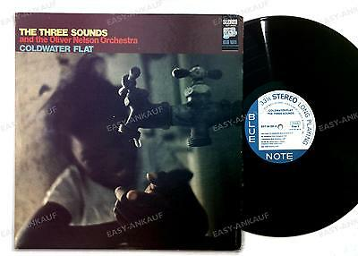 The Three Sounds And The Oliver Nelson Orchestra-Coldwater Flat LP 1968 FOC //1