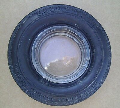 Vintage Rubber Goodyear Tire Ashtray or Change Dish