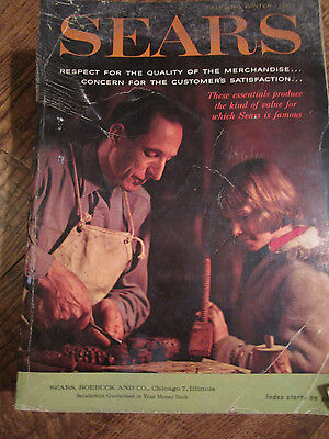 Vtg 1962 SEARS Catalog FALL/WINTER 1516 pages Fashion/Sporting Goods/Instruments