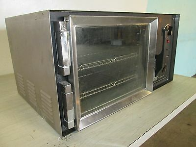 """""""wisco 608-1"""" Heavy Duty Commercial (Nsf) Counter-Top 120V Super Convection Oven"""