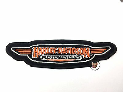 Harley Davidson Motorcycle Jacket Patch Vest * Discontinued * 9 Inches Large
