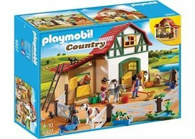 NEW Playmobil - Pony Horse Farm Set Country Life PM6927