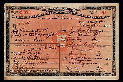 Antique Whiskey Prohibition Prescription Doctor Pharmacy Restaurant B & B Bar