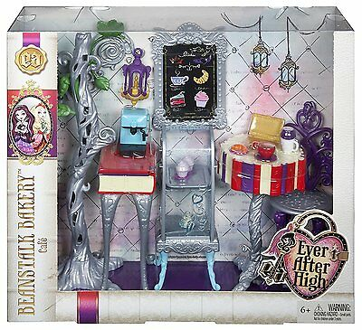 Ever After High Book End Hangout Beanstalk Bakery Café Playset