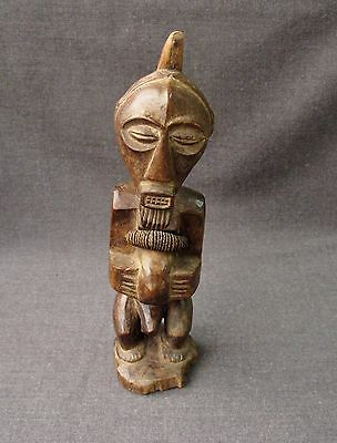 African Songye Power Wood & Fibers Figure Drc
