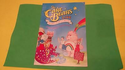 Vintage The Care Bears Live The Spell of the Ice Dragon Programme From 1988