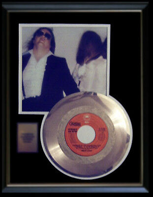 Meat Loaf Paradise By The Dashboard Light Rare Gold Record Disc Original 45 Rpm