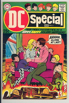 DC SPECIAL #2 VG, Top Teen Favorites, tear on b/c, Giant, DC Comics 1969