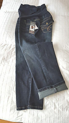 NWT  Oh Baby by Motherhood Maternity Capri Jeans Sz. Large   NEW