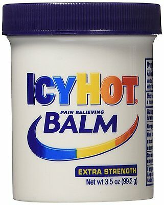 Icy Hot Extra Strength Pain Relieving Balm, 3.5 Ounce Jars