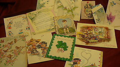 Greeting cards Christmas Valentines Easter Get well Hospital St Patricks old#155