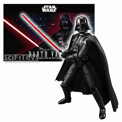 New 1/12 Star Wars Darth Vader Sith Lord Cloud City Model Kit Bandai Licensed