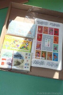 HONG KONG ** MNH 600 Sheets Gold Fish Games Post Lunar Stamp Collection DEALER