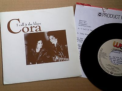 """7"""" Cora - I Call It The Blues + Product Facts + Pr Copy Sticker!!"""