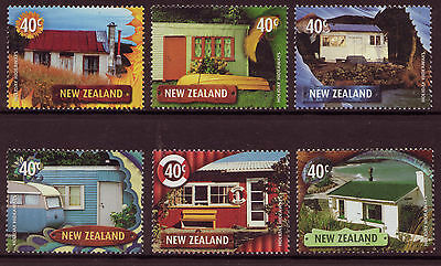 New Zealand 2002  Holiday Hideaways Unmounted Mint