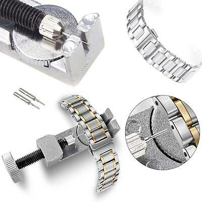 Metal Adjustable Watch Band Strap Bracelet Link Pin Remover Repair Tool Kits CO^
