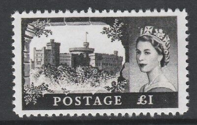 GB 3219 - 1955 Castle £1 - a Maryland FORGERY unused