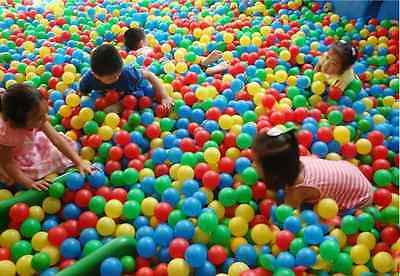 Kids Baby Colorful Soft Play Balls Toy for Ball Pit Swim Pit Ball Pool 7N