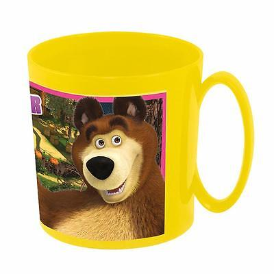 Masha and the Bear - Maxi Cup - Drinking Cup with Handle 350 ml