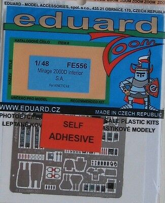 Eduard 1/48 FE556 Colour Zoom etch for the Kinetic Mirage 2000D kit