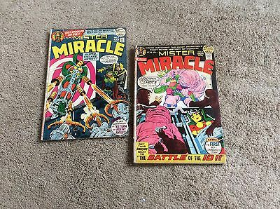 Mister Miracle Comics ... Lot Of 2 .. # 7... 8 ....