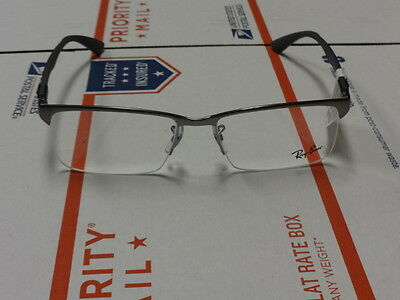New Ray Ban Rx8411 Eyeglasses Color 2714 Gunmetal Size 56-17-140