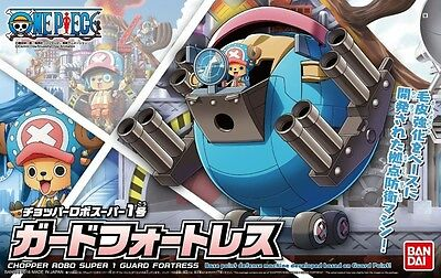 BANDAI NEW ONE PIECE CHOPPER ROBO SUPER 1 GUARD FORTRESS MODEL KIT #sfeb17-24a