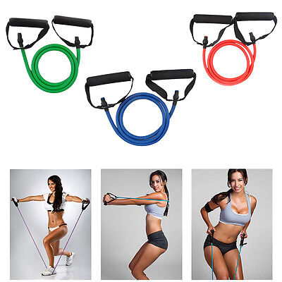 ViVo Resistance Bands Gym Exercise Tubes Stretch Heavy Set For Yoga Workout Band