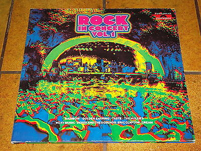 Various - Rock In Concert Vol. 1 - 2 Lp Near Mint!!