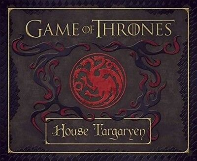 GAME OF THRONES HOUSE TARGARYEN DELUXE STATIONARY SET #sfeb17-28