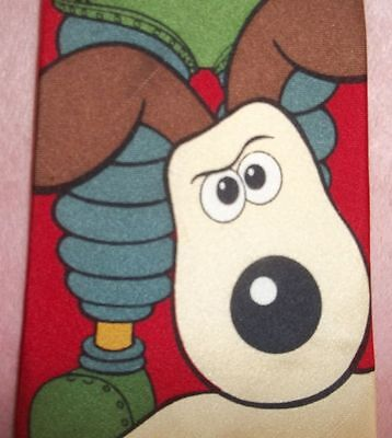 "Wallace And Gromit Neck Tie Dated 1989  ""mad Dogs & Englishmen""  Free Shipping."