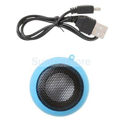 Mini Portable USB Rechargeable Hamburger Speaker for iPod iPhone Tablet