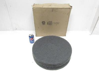"""NOS Lot of 4 3M Blue Floor Cleaner Pad 17"""" Pads #5300"""