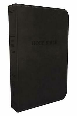 Kjv, Deluxe Gift Bible, Imitation Leather, Black, Red Letter Edition: Holy Bible