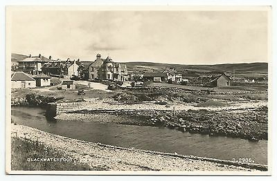 POSTCARD-SCOTLAND-ARRAN-RP. Blackwaterfoot.