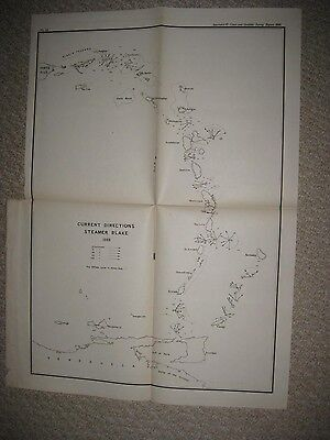 Antique 1889 Puerto Rico Virgin Islands Caribbean Saint Martin Island Map Rare