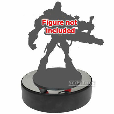 """7"""" TURN TABLE Mirror top Rotary Rotating Display Stand for retail model Figure"""