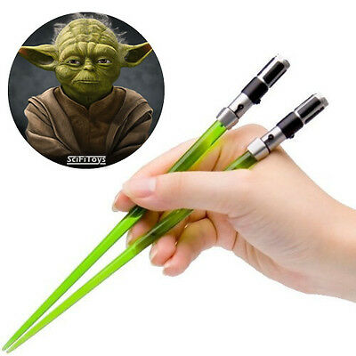 NEW Star Wars Master Yoda Lightsaber Chopsticks (Kotobukiya)